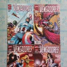 Cómics: LOS VENGADORES VOLUMEN 3 NÚMEROS 62,64,65,66 MARVEL FORUM. Lote 276102893