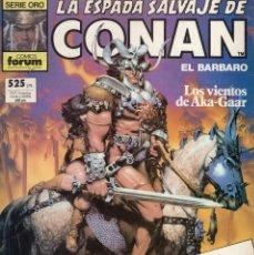 Cómics: LA ESPADA SALVAJE DE CONAN VOL. 1 1ª ED. RETAPADO CON LOS NUMEROS 53 AL 55 - FORUM - SUB02M. Lote 276200338