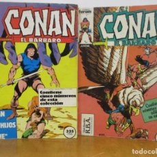 Cómics: CONAN EL BARBARO - 20 TOMOS RETAPADOS - 99 COMICS - VER NUMEROS - FORUM. Lote 276256308