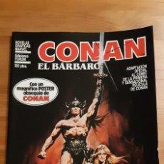 Fumetti: COMICS FORUM. CONAN EL BÀRBARO ( CONSERVA EL POSTER DE REGALO INTACTO ). Lote 276495113