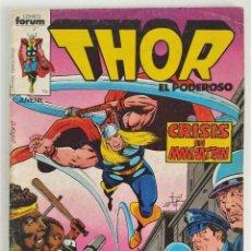 Cómics: THOR VOL.1 Nº 6 ~ MARVEL / FORUM (1983). Lote 276545033