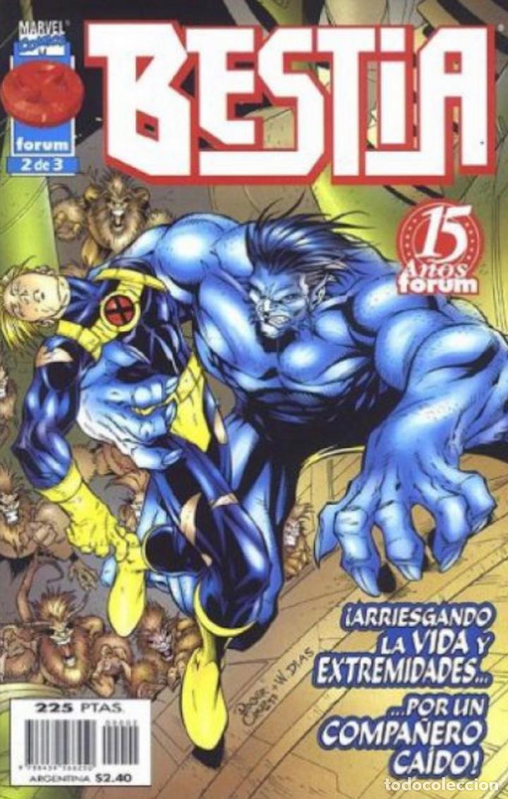 Cómics: Bestia - X-Men - completa 3 números - forum - Foto 2 - 276584103