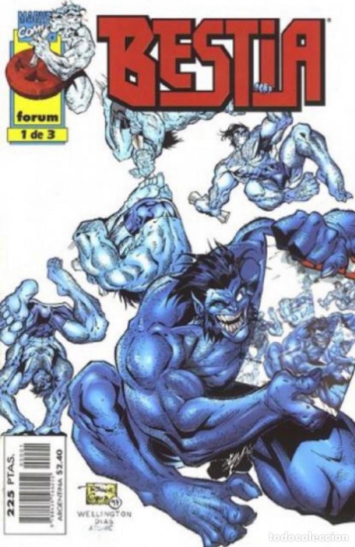 Cómics: Bestia - X-Men - completa 3 números - forum - Foto 3 - 276584103