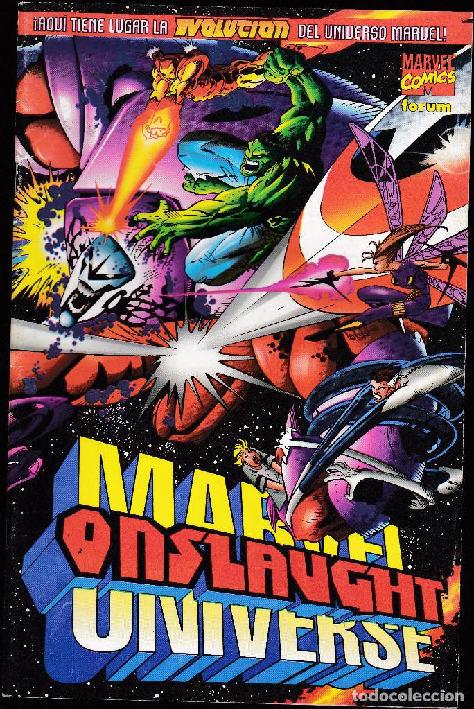 ONSLAUGHT - UNIVERSO MARVEL - UN GRAN PODER - JUNIO 1997 - FORUM - (Tebeos y Comics - Forum - X-Men)