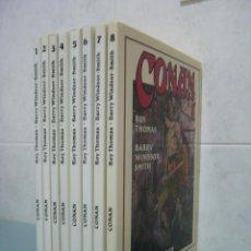 Cómics: CONAN ROY THOMAS / BARRY WINDSOR-SMITH. DEL 1 AL 8. Lote 276599263