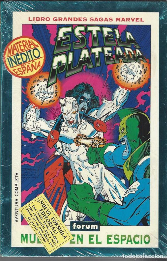 ESTELA PLATEADA - MUERTE EN EL ESPACIO - GRANDES SAGAS MARVEL - SIN ABRIR !! (Tebeos y Comics - Forum - Silver Surfer)