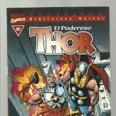 Cómics: BIBLIOTECA MARVEL: THOR 31, 2003, FORUM, MUY BUEN ESTADO. Lote 276738783