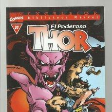 Cómics: BIBLIOTECA MARVEL: THOR 37, 2004, FORUM, MUY BUEN ESTADO. Lote 276739818
