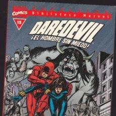 Comics: BIBLIOTECA MARVEL - DAREDEVIL - Nº 15 - DAN DEFENSOR - ¡LA VIUDA NEGRA TE LO HARÁ PAGAR! - FORUM -. Lote 276741898