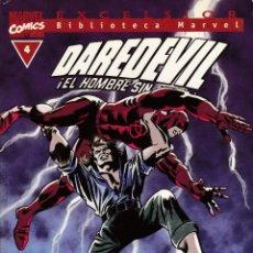 Cómics: BIBLIOTECA MARVEL - DAREDEVIL - Nº 4 - DAN DEFENSOR - ¡EL TRIHOMBRE VIVE! - FORUM -. Lote 276743968