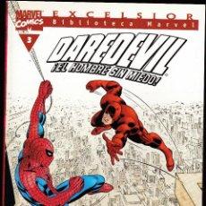 Cómics: BIBLIOTECA MARVEL - DAREDEVIL - Nº 3 - DAN DEFENSOR - LLEGA... ¡SPIDERMAN! - FORUM -. Lote 276744183