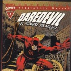 Cómics: BIBLIOTECA MARVEL - DAREDEVIL - Nº 3 - DAN DEFENSOR - LLEGA... ¡SPIDERMAN! - FORUM -. Lote 276744393