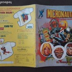 Cómics: MICRONAUTAS SURCO VERTICE LINEA 83 Nº 4. Lote 276756588