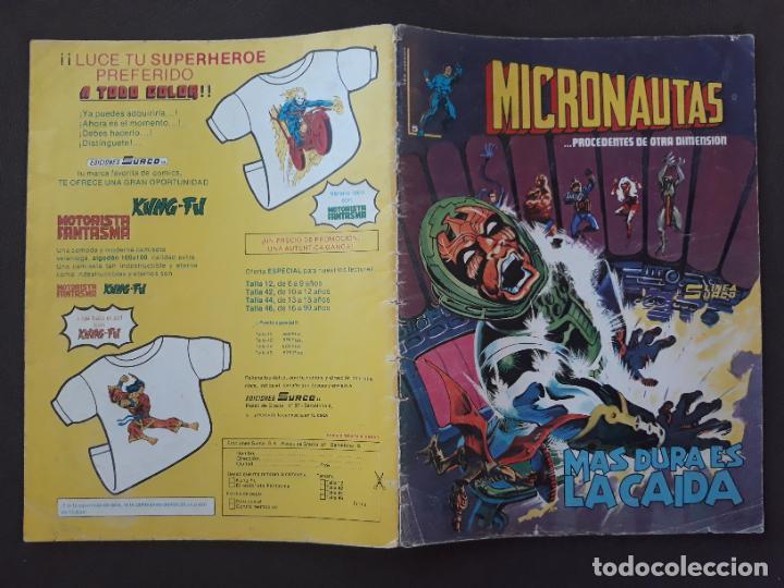 MICRONAUTAS SURCO VERTICE LINEA 83 Nº 5 (Tebeos y Comics - Forum - Vengadores)
