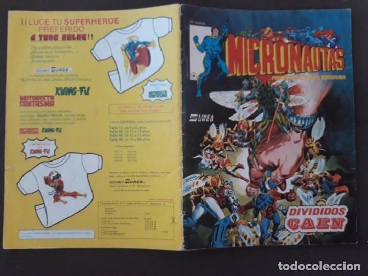 MICRONAUTAS SURCO VERTICE LINEA 83 Nº 6 (Tebeos y Comics - Forum - Vengadores)