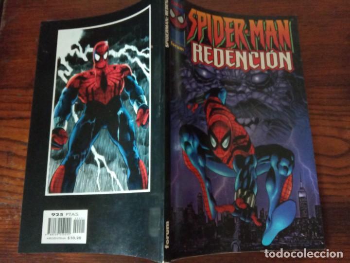 Cómics: SPIDERMAN: REDENCIÓN. FORUM. PLANETA DEAGOSTINI. 1997. DEMATTEIS / ZECK. - Foto 2 - 276912343