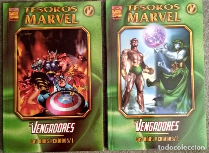 TESOROS MARVEL: LOS VENGADORES - LOS AÑOS PERDIDOS (2 TOMOS COMPLETA) (Tebeos y Comics - Forum - Vengadores)