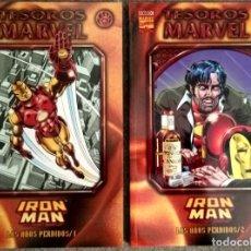 Cómics: TESOROS MARVEL: IRON MAN - LOS AÑOS PERDIDOS (2 TOMOS COMPLETA). Lote 276921183