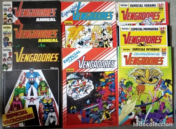 LOS VENGADORES (LOTE 8 NÚMEROS ESPECIALES) (Tebeos y Comics - Forum - Vengadores)