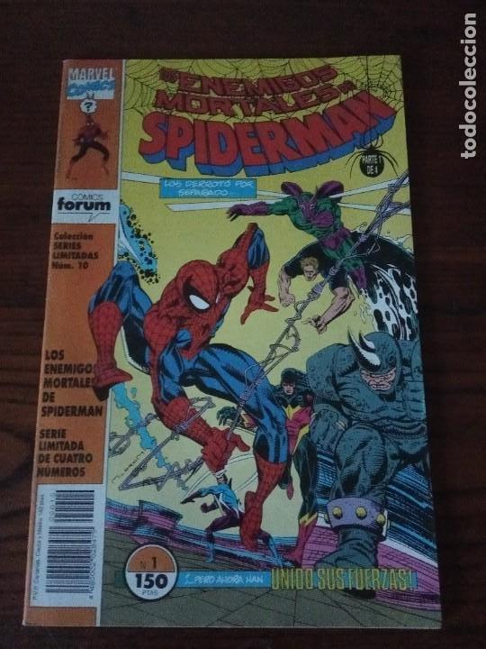 Cómics: Los enemigos mortales de Spiderman nº 1 al 4 Colección COMPLETA (1, 2, 3, 4) Forum. - Foto 2 - 276960078