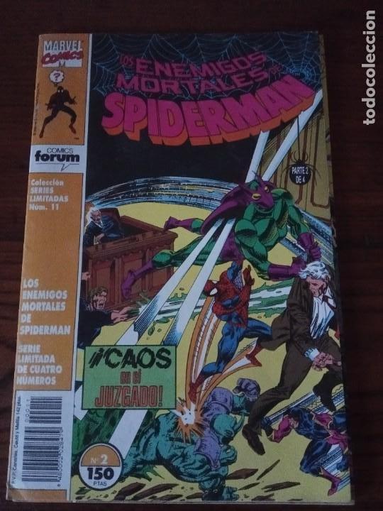 Cómics: Los enemigos mortales de Spiderman nº 1 al 4 Colección COMPLETA (1, 2, 3, 4) Forum. - Foto 3 - 276960078
