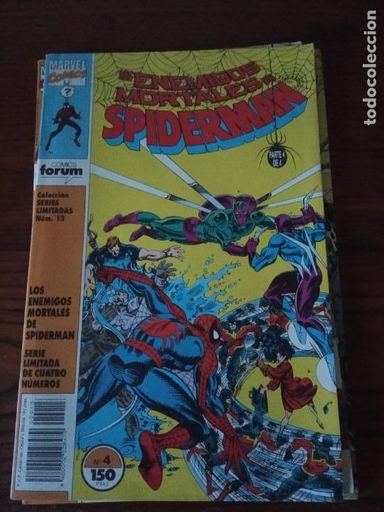Cómics: Los enemigos mortales de Spiderman nº 1 al 4 Colección COMPLETA (1, 2, 3, 4) Forum. - Foto 5 - 276960078
