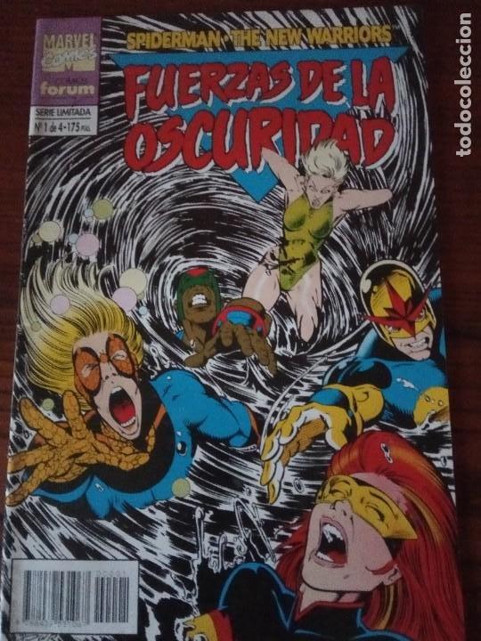 Cómics: SPIDERMAN NEW WARRIORS FUERZAS DE LA OSCURIDAD.4 DE 4. COMPLETA.FORUM. - Foto 2 - 276960848