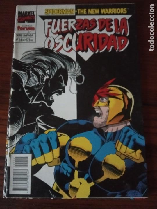 Cómics: SPIDERMAN NEW WARRIORS FUERZAS DE LA OSCURIDAD.4 DE 4. COMPLETA.FORUM. - Foto 3 - 276960848