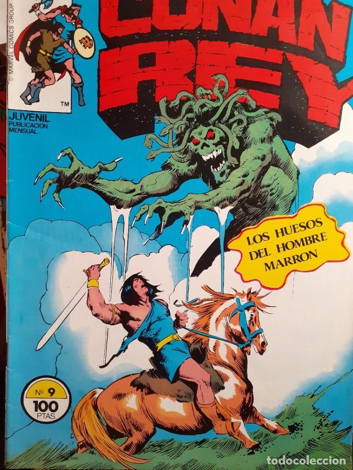 Cómics: CONAN REY-FORUM- Nº 9 -LOS HUESOS DEL HOMBRE MARRÓN-1984-JOHN BUSCEMA-BUENO-DIFÍCIL-LEA-5268 - Foto 2 - 276961363