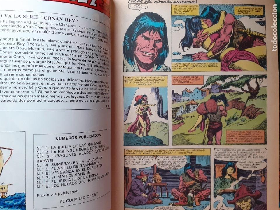 Cómics: CONAN REY-FORUM- Nº 9 -LOS HUESOS DEL HOMBRE MARRÓN-1984-JOHN BUSCEMA-BUENO-DIFÍCIL-LEA-5268 - Foto 4 - 276961363
