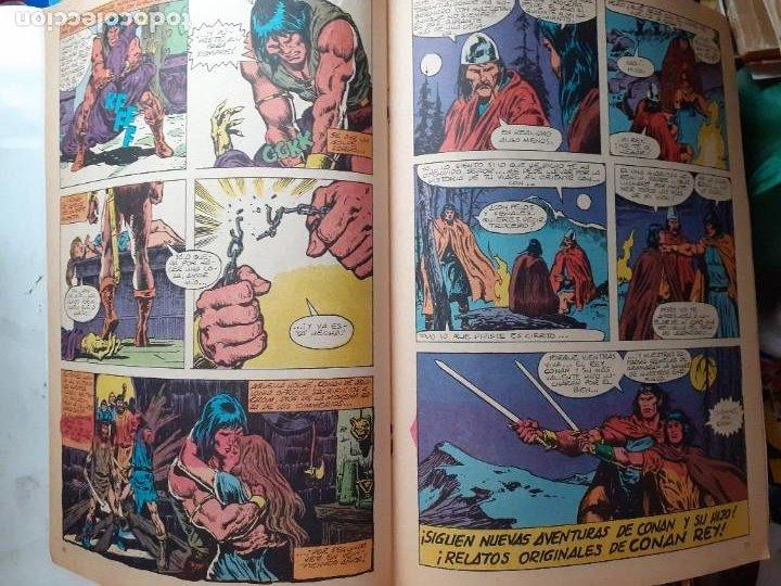 Cómics: CONAN REY-FORUM- Nº 9 -LOS HUESOS DEL HOMBRE MARRÓN-1984-JOHN BUSCEMA-BUENO-DIFÍCIL-LEA-5268 - Foto 5 - 276961363