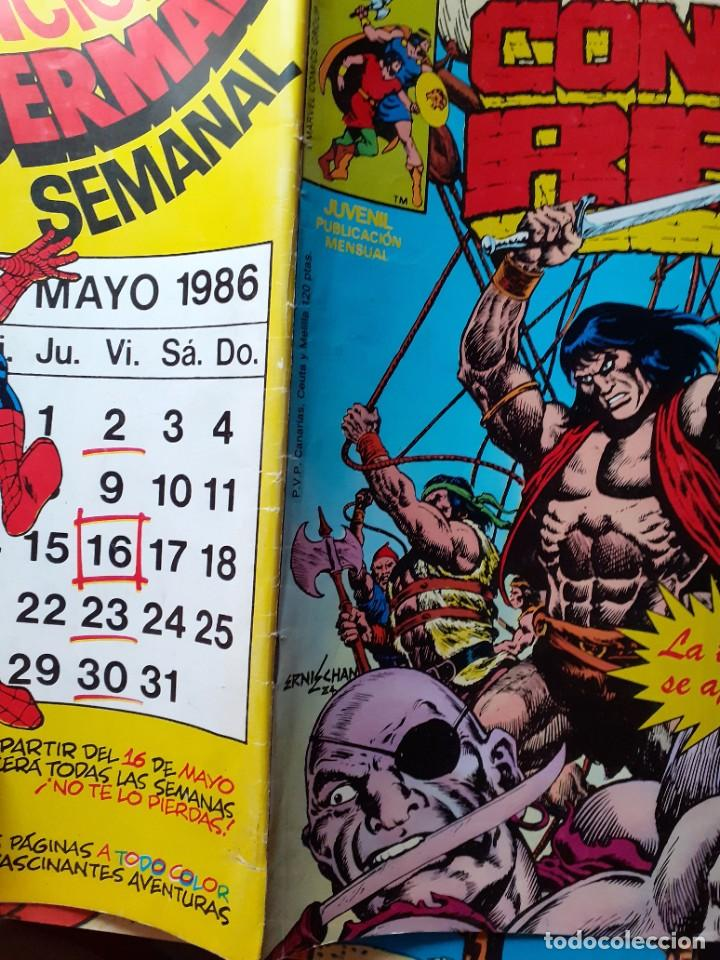 Cómics: CONAN REY-FORUM- Nº 22 -EL PRÍNCIPE HA MUERTO-1986-MARK SILVESTRI-CASI BUENO-DIFÍCIL-LEA-5269 - Foto 3 - 276962498