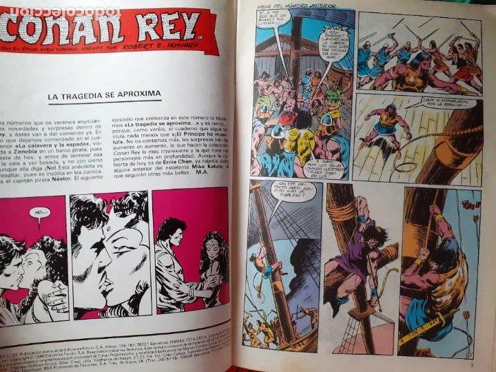 Cómics: CONAN REY-FORUM- Nº 22 -EL PRÍNCIPE HA MUERTO-1986-MARK SILVESTRI-CASI BUENO-DIFÍCIL-LEA-5269 - Foto 4 - 276962498