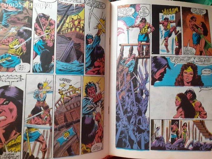 Cómics: CONAN REY-FORUM- Nº 22 -EL PRÍNCIPE HA MUERTO-1986-MARK SILVESTRI-CASI BUENO-DIFÍCIL-LEA-5269 - Foto 5 - 276962498