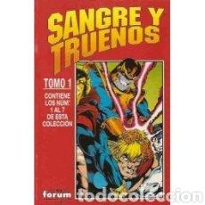 Cómics: SANGRE Y TRUENO COMOLETO ED. RETAPADA. COMICS FORUM 1994. THOR. SILVER SURFER.. Lote 276966773