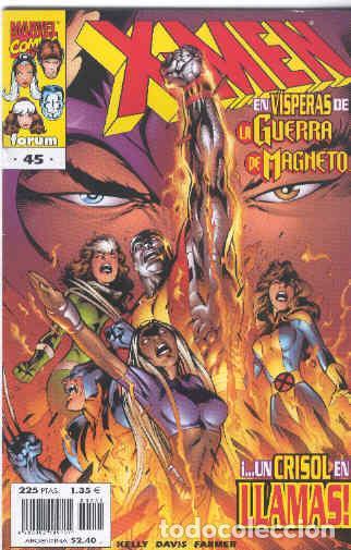 X MEN VOLUMEN 2. Nº 45 (Tebeos y Comics - Forum - X-Men)