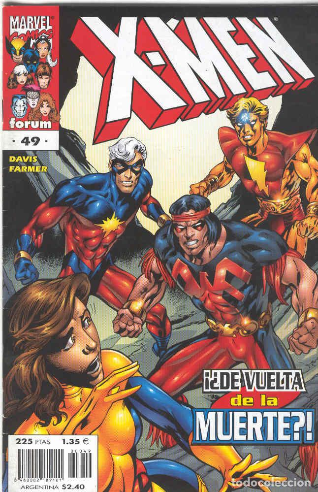 X MEN VOLUMEN 2. Nº 49 (Tebeos y Comics - Forum - X-Men)