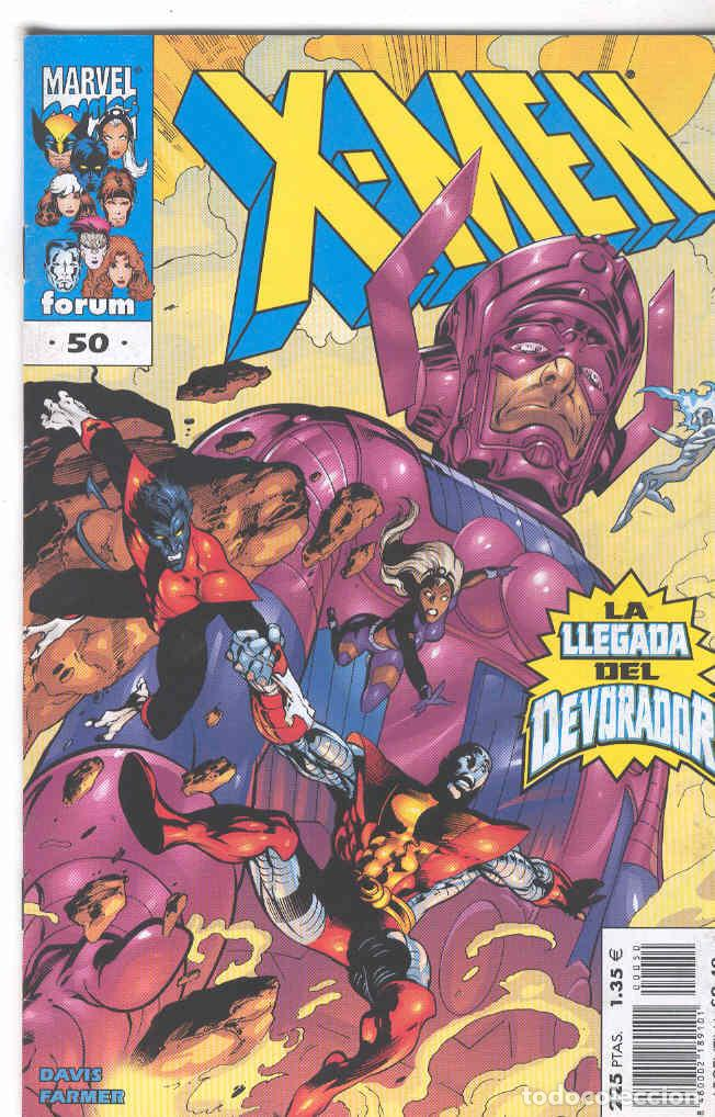 X MEN VOLUMEN 2. Nº 50 (Tebeos y Comics - Forum - X-Men)