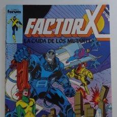 """Cómics: FACTOR X """"LA CAIDA DE LOS MUTANTES"""" (Nº 23) - FORUM. Lote 277047543"""