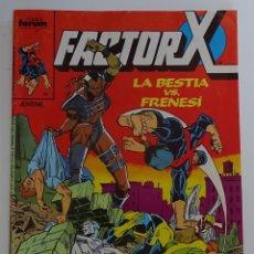 "Cómics: FACTOR X ""LA BESTIA VS FRENESI"" (Nº 4) - FORUM. Lote 277047913"