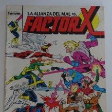 """Cómics: FACTOR X """"LA ALIANZA DEL MAL VS FACTOR X"""" (Nº 5) - FORUM. Lote 277052038"""