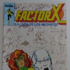 """Cómics: FACTOR X """"LA CAIDA DE LOS MUTANTES"""" (Nº 24) - FORUM. Lote 277053278"""