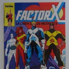 """Cómics: FACTOR X """"LA CAIDA DE LOS MUTANTES"""" (Nº 25) - FORUM. Lote 277053423"""