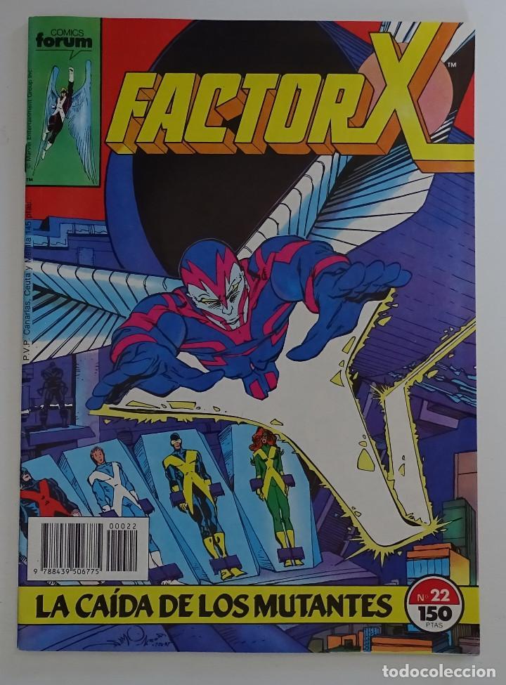"""COMIC DE FACTOR X """"LA CAIDA DE LOS MUTANTES"""" (Nº 22) - FORUM (Tebeos y Comics - Forum - Factor X)"""
