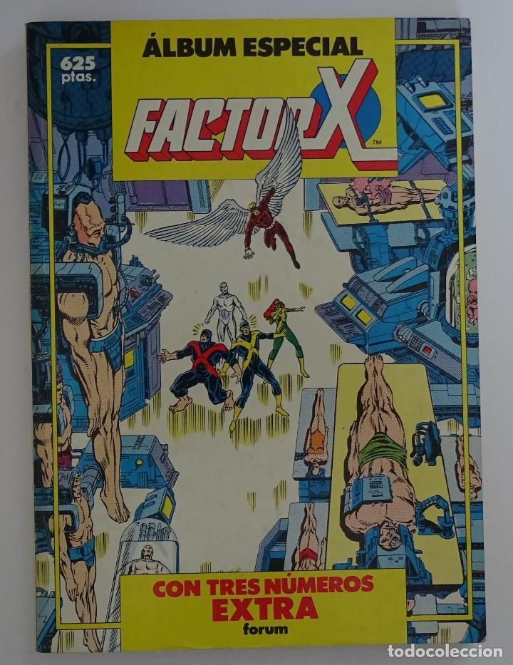 COMIC DE FACTOR X ALBUM ESPECIAL - FORUM (Tebeos y Comics - Forum - Factor X)