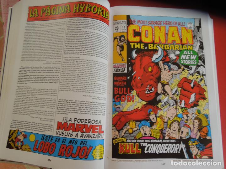 Cómics: CONAN EL BARBARO - VOLUMEN 1 - LA ETAPA MARVEL ORIGINAL - MARVEL OMNIBUS 2018 - Foto 3 - 277077368