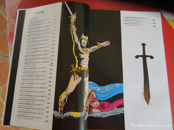 Cómics: CONAN EL BARBARO - VOLUMEN 1 - LA ETAPA MARVEL ORIGINAL - MARVEL OMNIBUS 2018 - Foto 4 - 277077368