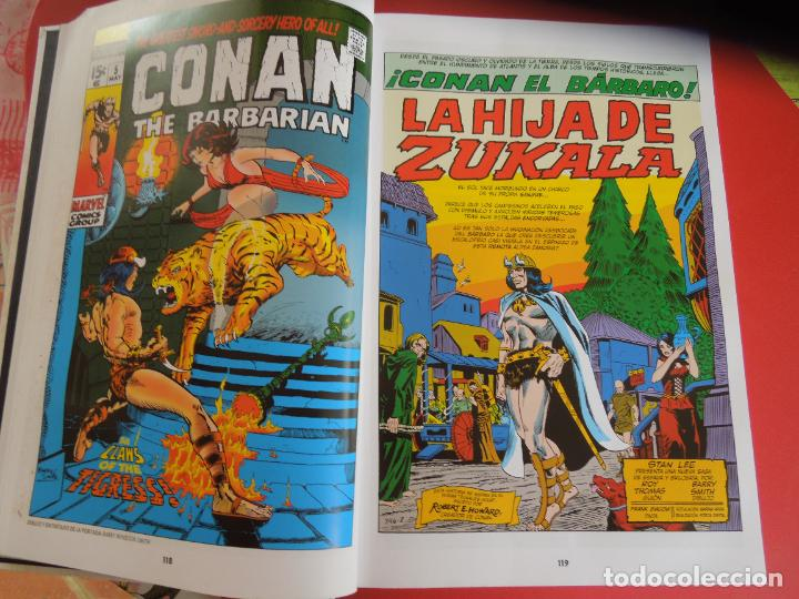 Cómics: CONAN EL BARBARO - VOLUMEN 1 - LA ETAPA MARVEL ORIGINAL - MARVEL OMNIBUS 2018 - Foto 5 - 277077368