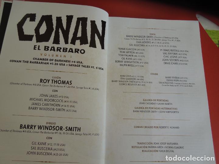 Cómics: CONAN EL BARBARO - VOLUMEN 1 - LA ETAPA MARVEL ORIGINAL - MARVEL OMNIBUS 2018 - Foto 6 - 277077368