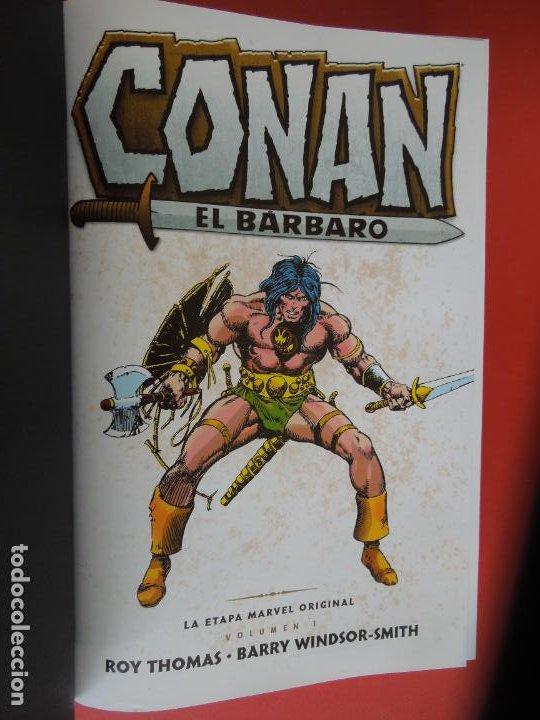 Cómics: CONAN EL BARBARO - VOLUMEN 1 - LA ETAPA MARVEL ORIGINAL - MARVEL OMNIBUS 2018 - Foto 8 - 277077368
